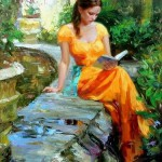 'Reading Time'~Vladimir Volegov