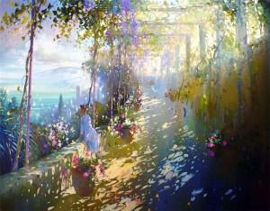 Картина Лорана Парселье